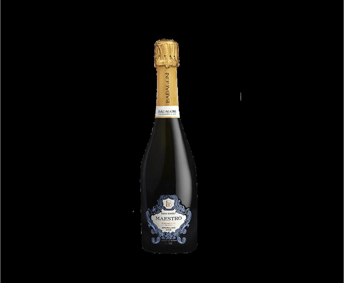 Sparkling Wine Badagoni semi-sweet