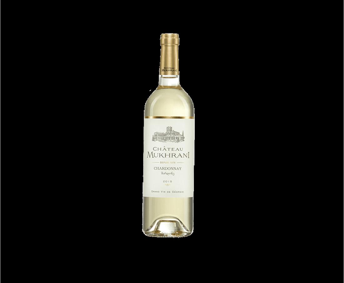 Вино Chateau Mukhrani Шардоне (біле сухе)
