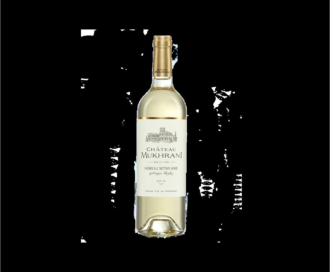 Вино Chateau Mukhrani Горулі-Мцване (белое сухое)