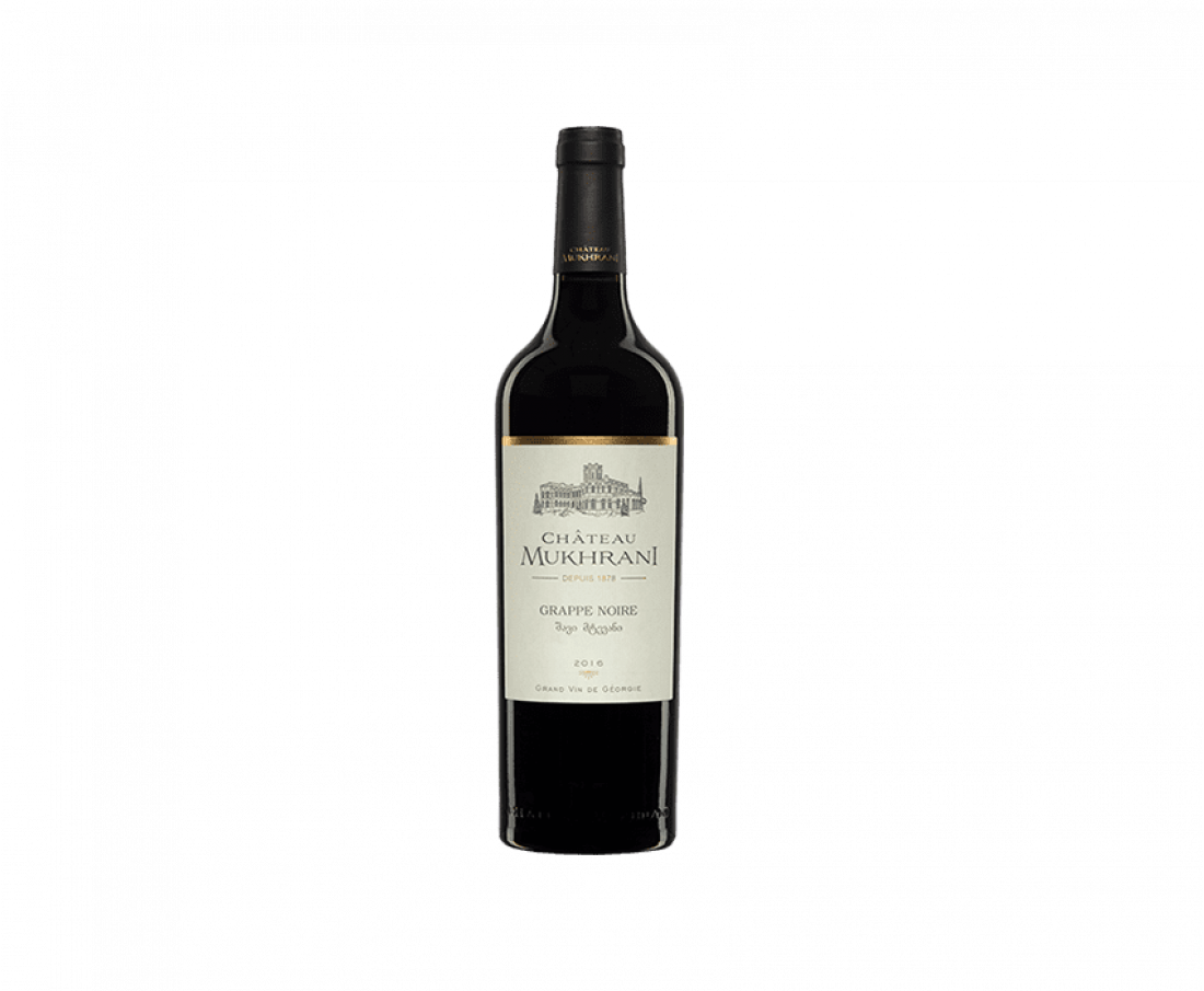 Wine Chateau Mukhrani Grappe noire (red dry)
