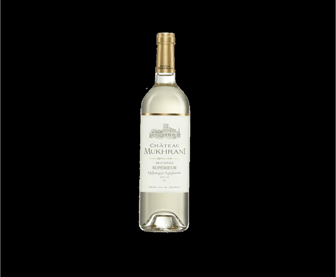 Вино Chateau Mukhrani Ркацители (белое сухое)