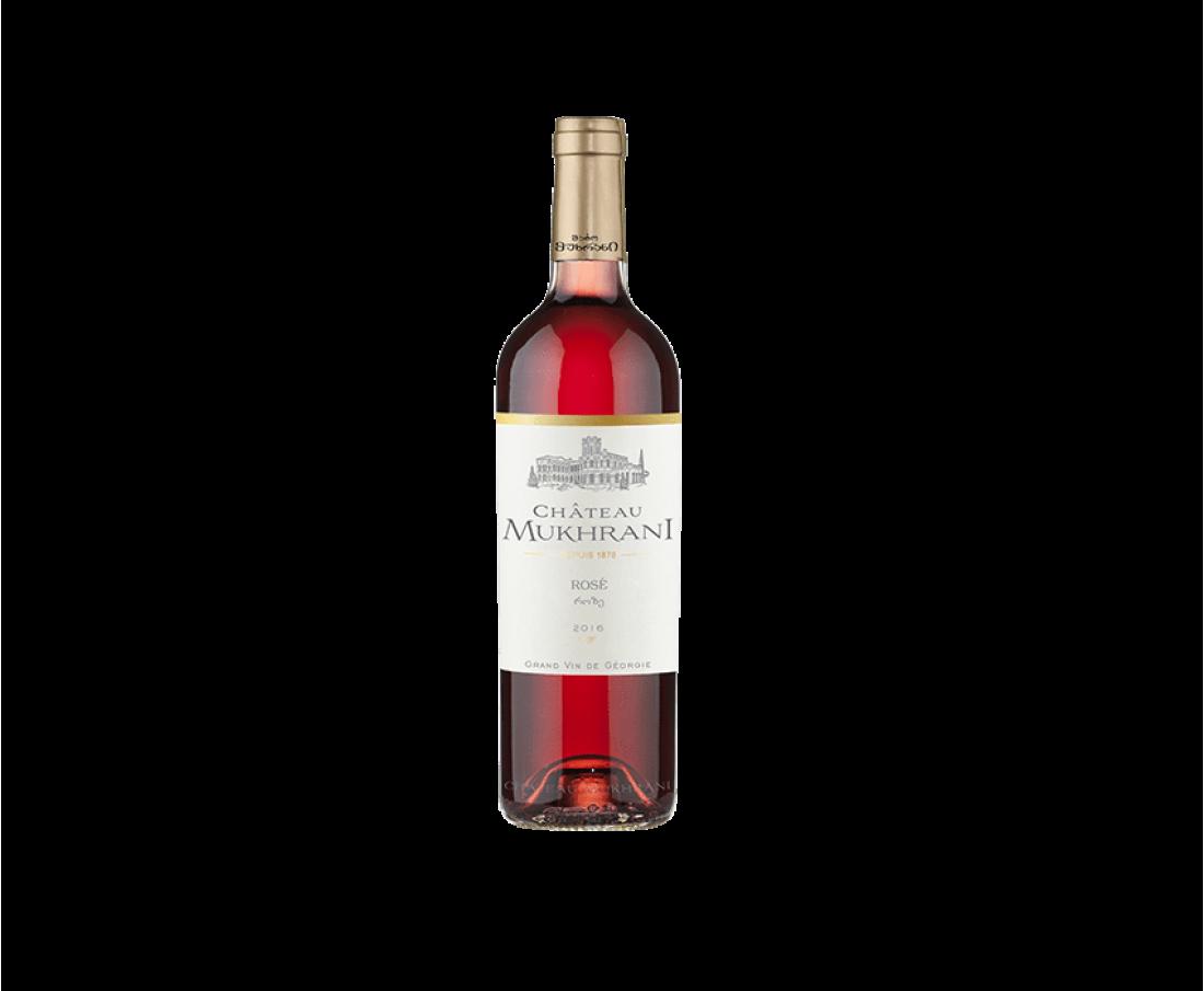 Вино Chateau Mukhrani Розе (розовое сухое)