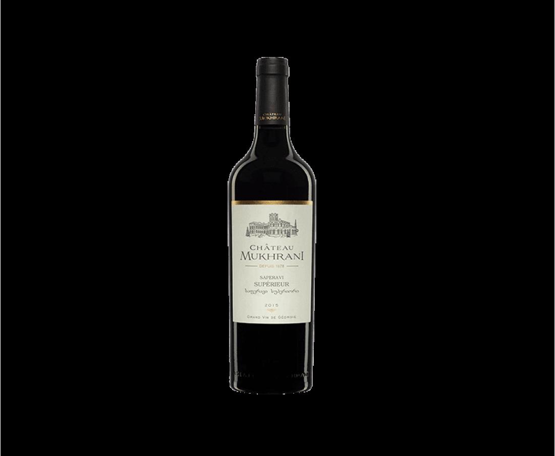 Вино Chateau Mukhrani Сапераві (червоне сухе)