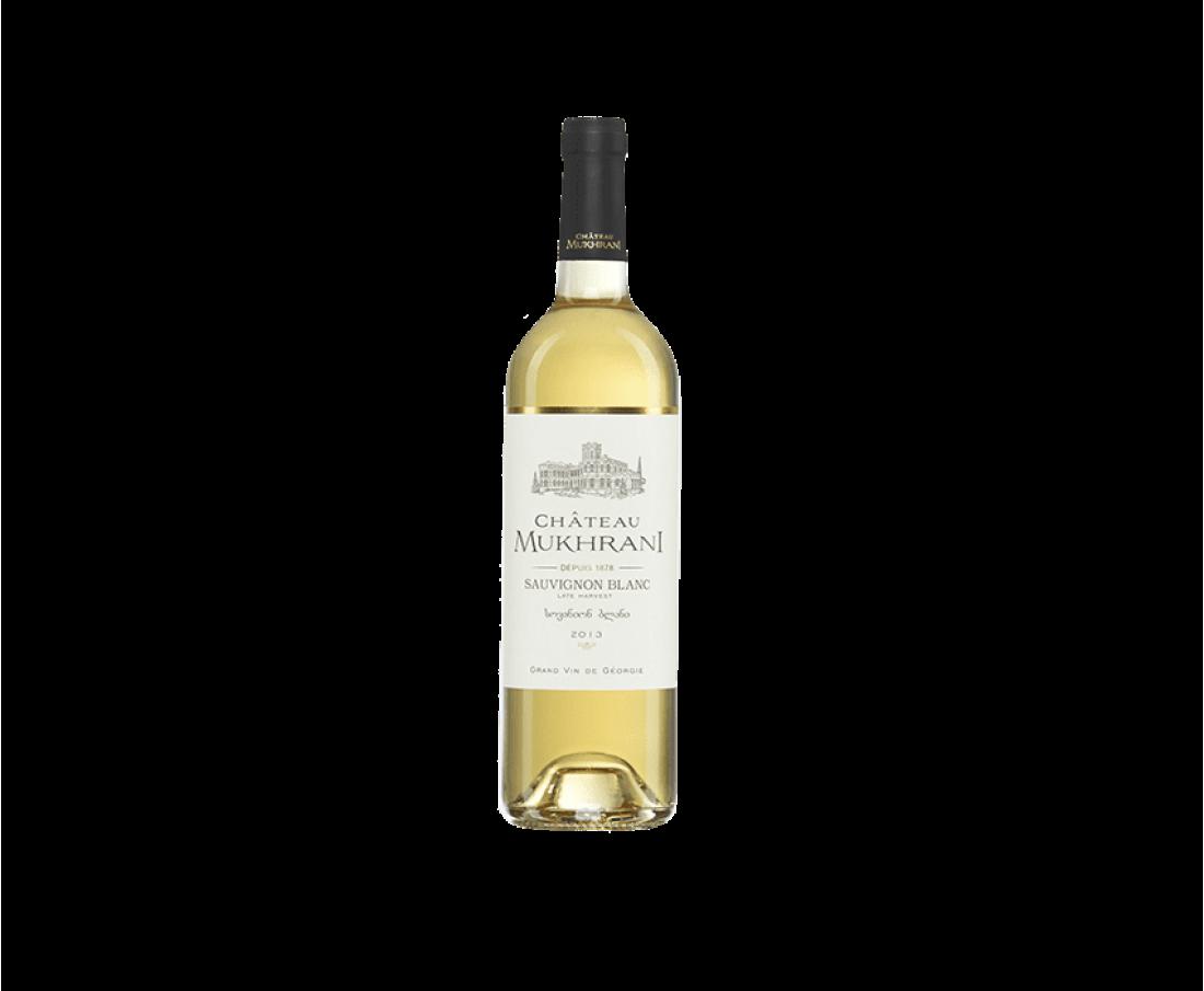 Wine Chateau Mukhrani Sauvignon blanc (white semi sweet)
