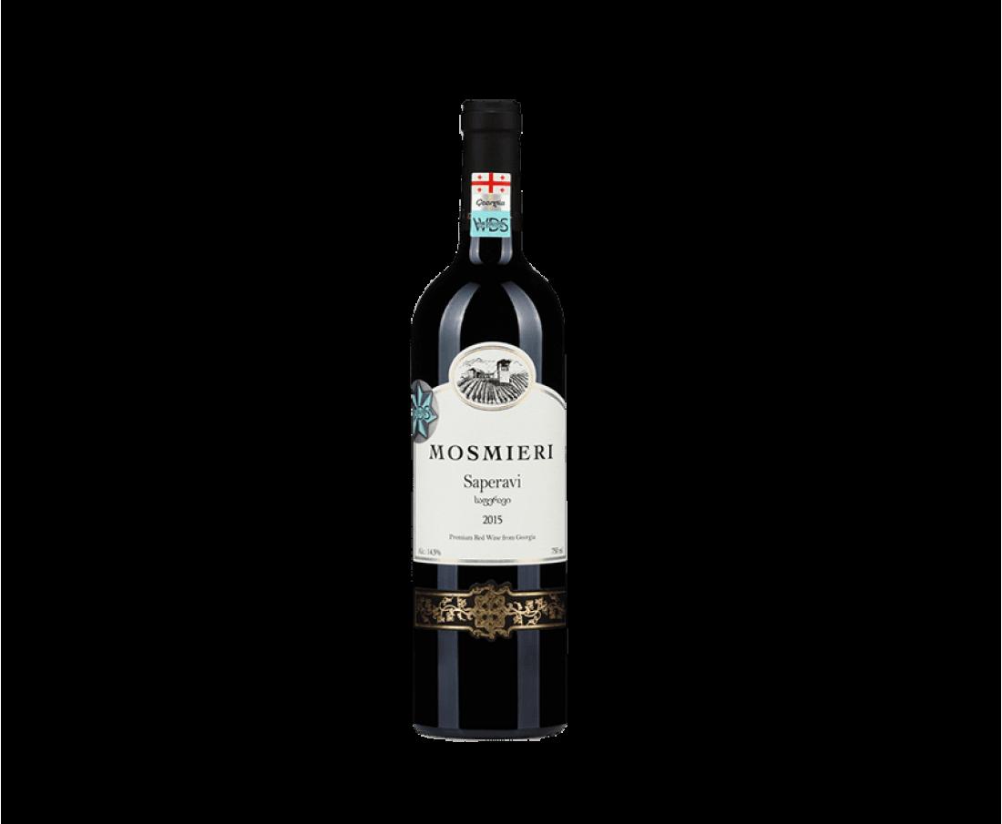 Wine Mosmieri Saperavi (dry red)